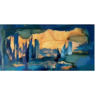 Original Contemporary Painting Urban Landscape For Sale