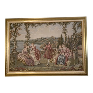 Italian Landscape Wall Tapestry For Sale