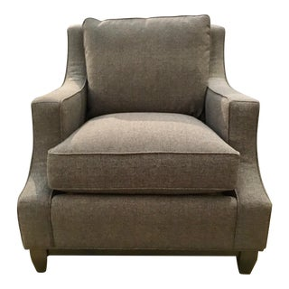 Hickory White Modern Gray Club Chair 133lw01r For Sale
