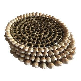 Boho Beach House Seashell Trivets - Set of 4