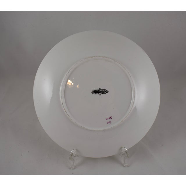 Ceramic 19th C. Bodley Staffordshire Dead Game Plate, the Snipe For Sale - Image 7 of 13
