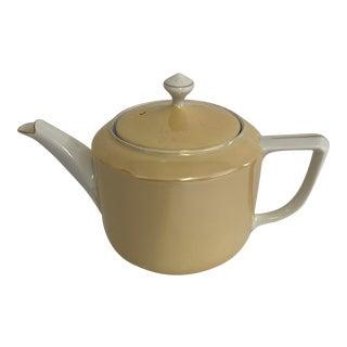 Peach Lusterware Teapot For Sale