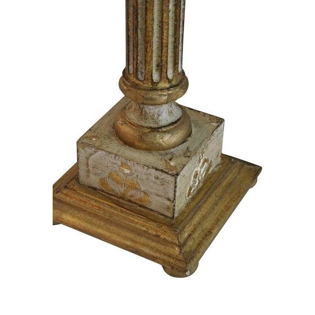 Italian Florentine Pedestal - Pair - Image 3 of 3