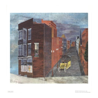 "Ben Shahn Ohio Magic 19.25"" X 25"" Offset Lithograph Modernism For Sale"