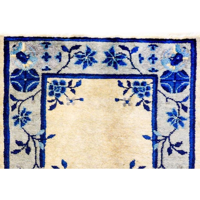 Early 20th Century Chinese Art Deco Rug - 2′ × 4′ - Image 5 of 5