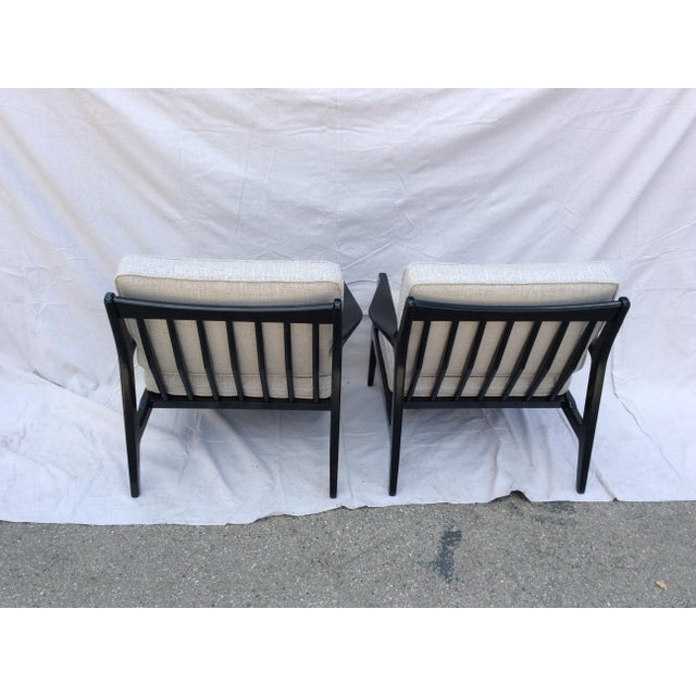 Mid Century Side Chairs - a Pair For Sale - Image 4 of 10
