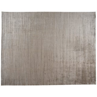 Zen Collection Beige and Silver Rug - 12′2″ × 15′1″ For Sale