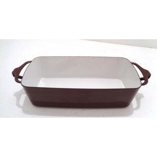 2 Dansk Ihq Jens Quistaard Kobenstyle Brown Casserole & Loaf Pans Preview