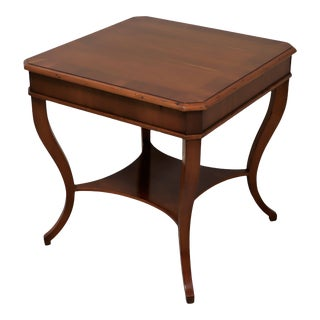 Alfonso Marina Ebanista Spanish Colonial Side Table For Sale