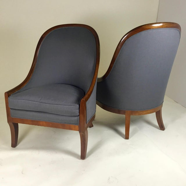 Spoon Back Chairs by Baker Furniture - Image 2 of 9