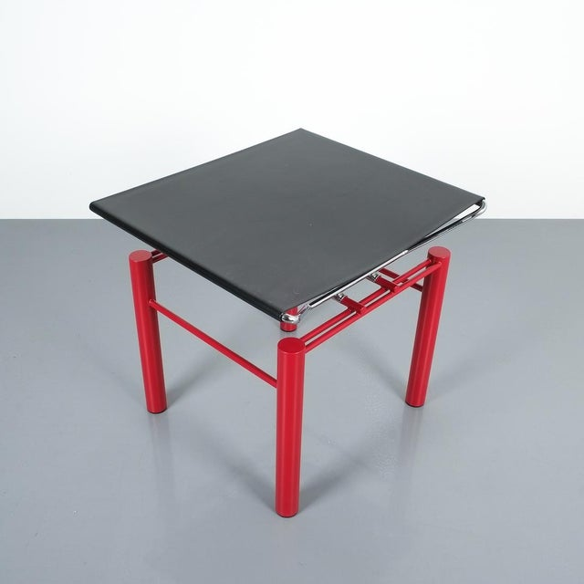 1980s Hans Ullrich Bitsch Side Table Series 8600, Circa 1980 For Sale - Image 5 of 6
