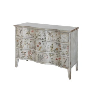 Floral Chest of Drawers For Sale