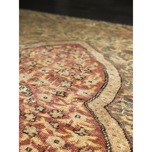 Bellwether Rugs Distressed Look Vintage Turkish Oushak Area - 4'x6' - Image 11 of 11