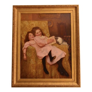 Late 19th Century Antique William Henry Gore Painting For Sale