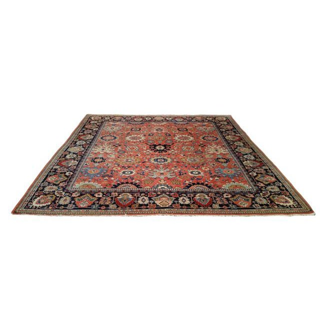 Persian Sarouk Fereghan Hand Made Knotted Rug. Central Persian, circa 1910. Infuse a touch of beauty to high-traffic areas...