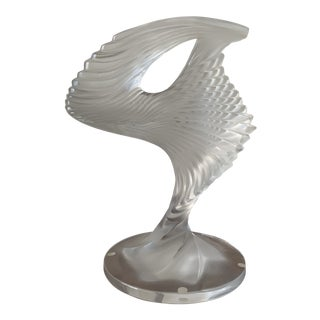 Vintage Rene Lalique Trophee For Sale