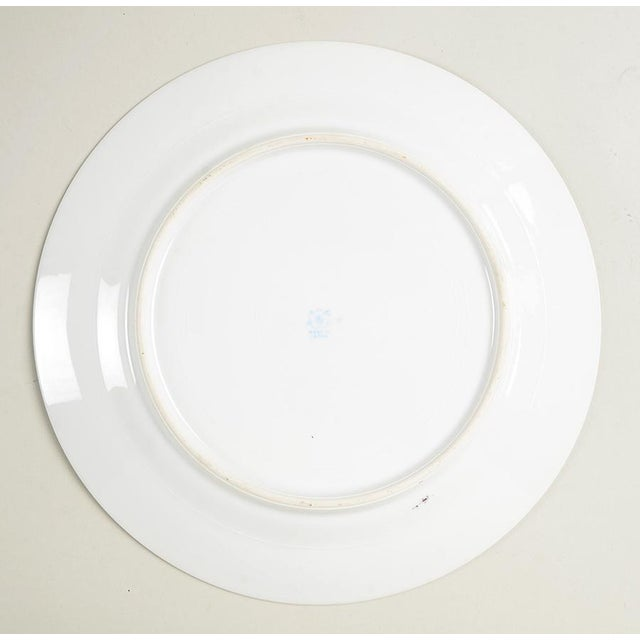 Ceramic Noritake Pink with Bird of Paradise Dinner Plates - Set of 10 For Sale - Image 7 of 9