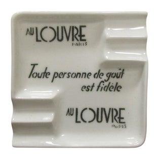 Au Louvre Paris Art Deco Ashtray For Sale