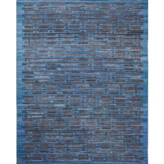 Schumacher Patterson Flynn Martin Ruben Hand Woven Geometric Rug For Sale