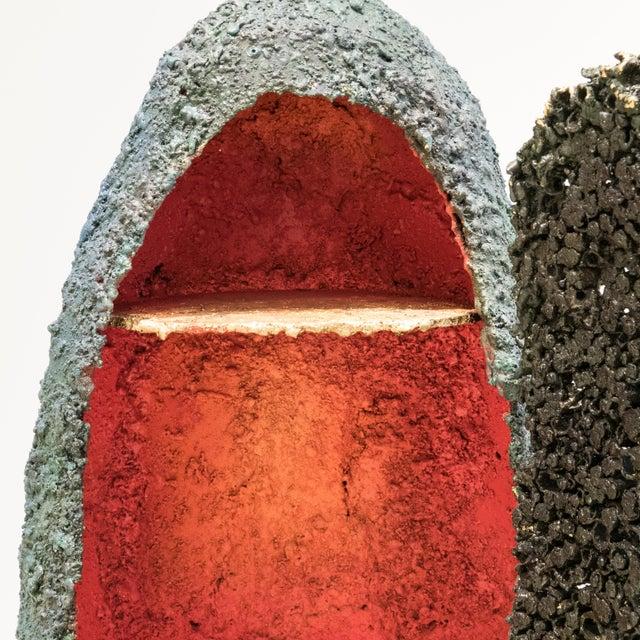 "Metal James Bearden ""Moon Shelter Cabinet"" For Sale - Image 7 of 12"