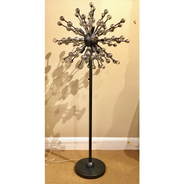 2010s Mid-Century Modern Inspired Sputnik Constellation Floor Lamp By: Regina Andrew For Sale - Image 5 of 5