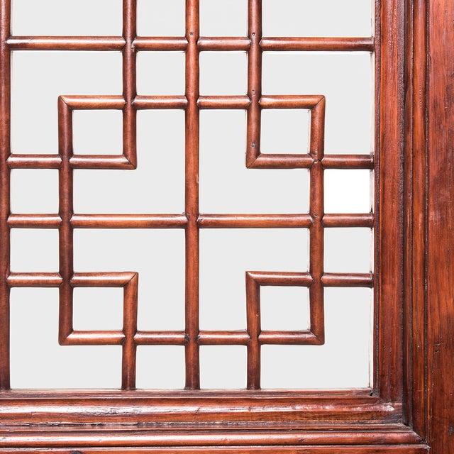 19th Century Chinese Lattice Doorway For Sale - Image 4 of 6
