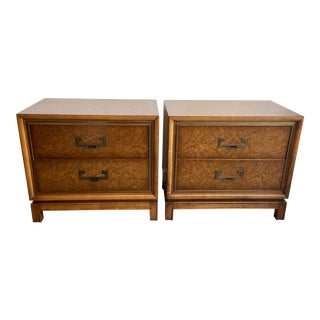 Rare Pair of Founders Side Tables For Sale