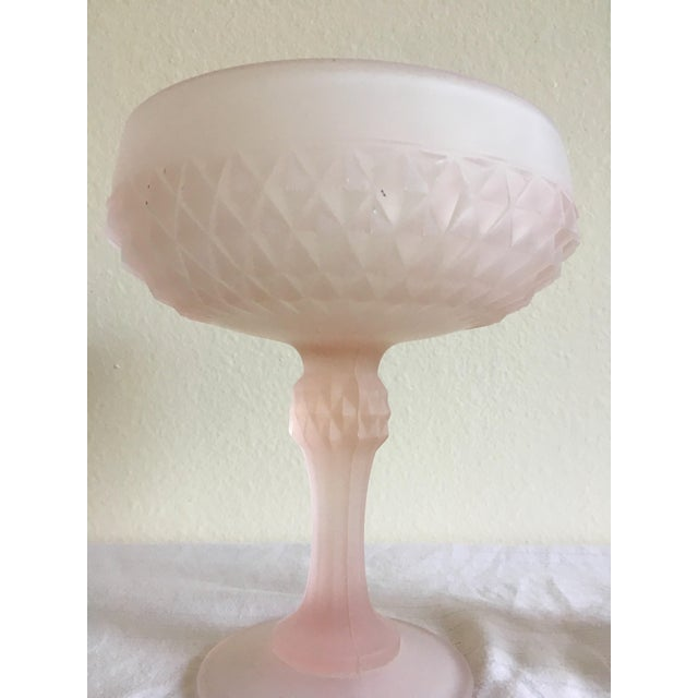 Mid-Century Pedestal Bowl & Candle Holder - Pair - Image 3 of 9