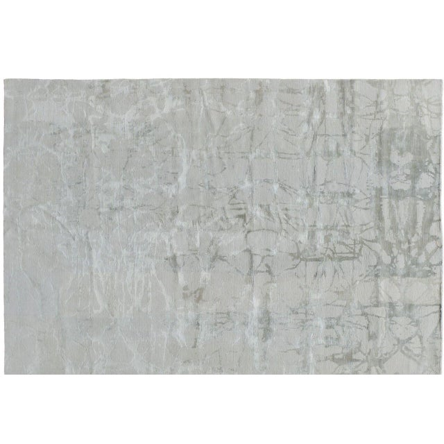 Stark Studio Rugs Contemporary New Oriental Tibetan Wool Rug - 6′1″ × 9′1″ For Sale