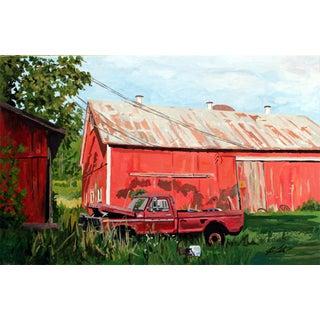 Redman's Barn Giclee Print For Sale