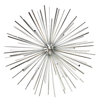 Curtis Jere Chrome Signed Sputnik Sculpture For Sale
