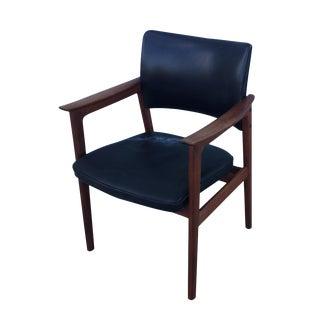 Danish Modern Teak Lounge/Desk Chair
