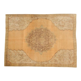 Vintage Oushak Carpet - 8' X 11' For Sale