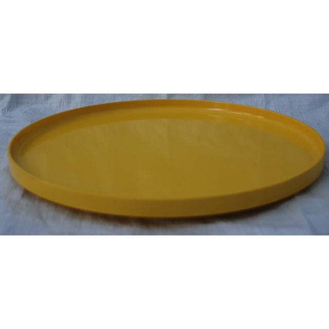 Massimo Vignelli for Heller Tray in Yellow - Image 3 of 5