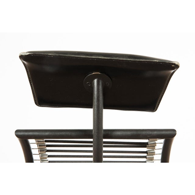 1980s Vintage Postmodern Italian Chaise Lounge Chair For Sale - Image 4 of 11