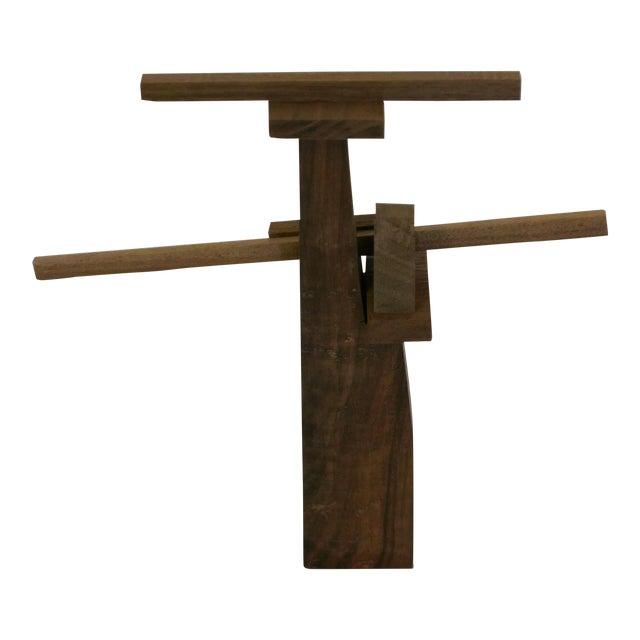 Behzad Haghiri's Raw Walnut Sculpture For Sale