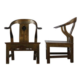 Pair of Orientalist Chairs For Sale