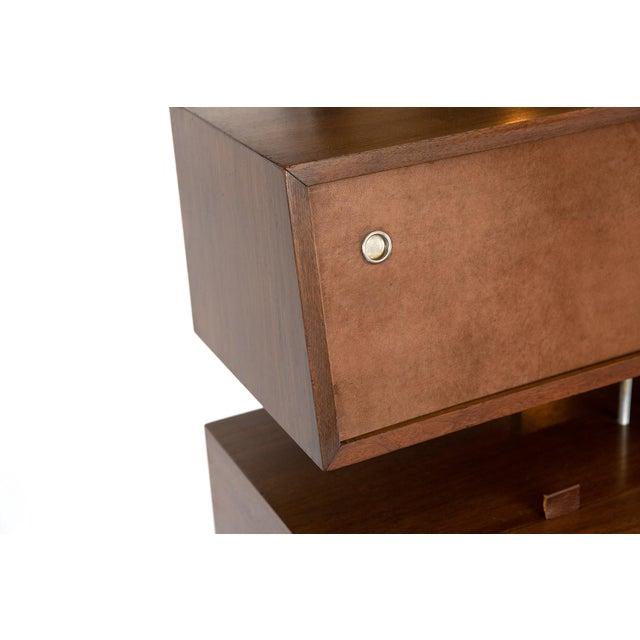 George Nelson for Herman Miller Walnut Desk For Sale In Phoenix - Image 6 of 7