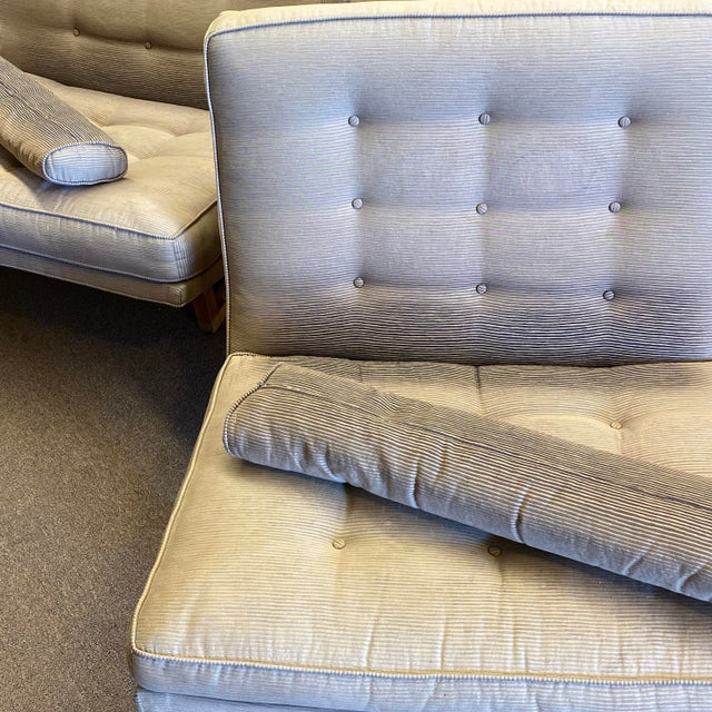 Mid-Century Milo Baughman Style Lounge Chairs - a Pair For Sale In Phoenix - Image 6 of 10