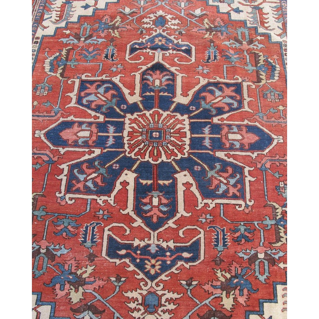 Traditional Serapi Carpet For Sale - Image 3 of 6