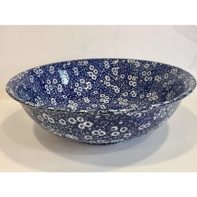 Staffordshire Calico Large Bowl - Image 3 of 5