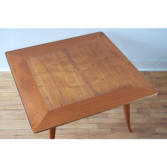 Dunbar Furniture Mahogany Cocktail Table by Edward Wormley for Dunbar For Sale - Image 4 of 7