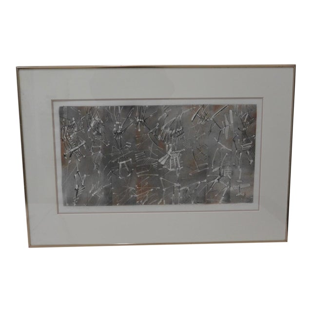 Vintage Pencil Signed Etching With Aquatint - Image 1 of 6