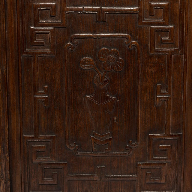 A hallmark of Qing-dynasty domestic architecture, hand-carved lattice panels such as these were originally used in...