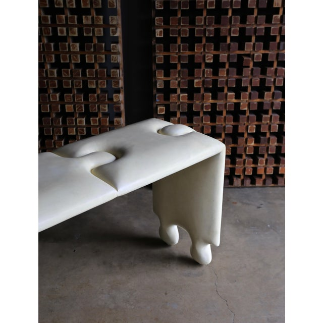 "2000 - 2009 Goatskin ""Puzzle"" Console by Scala Luxury For Sale - Image 5 of 13"