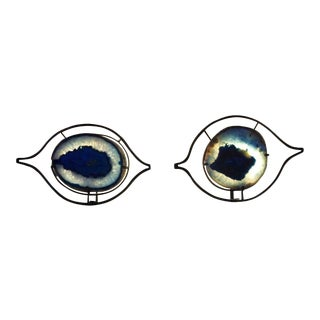 "Marjorie Skouras ""Los Ojos"" Wall Sconces - a Pair For Sale"