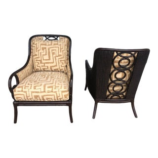 Tommy Bahama Sumatra Chairs - a Pair For Sale