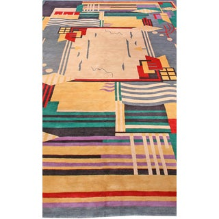 Deco Inspired Tibetan Rug- 18'3'' X 11' Ft Preview