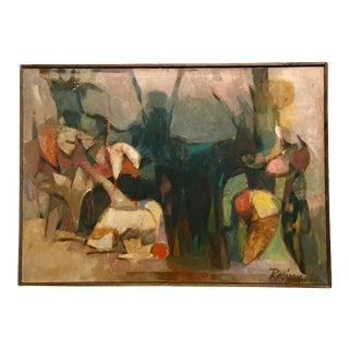 Harold Rabinowitz Untitled Oil on Canvas For Sale
