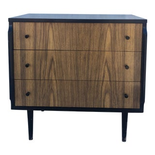 Mid Century Modern Three Drawer Dresser by Kent Coffey For Sale